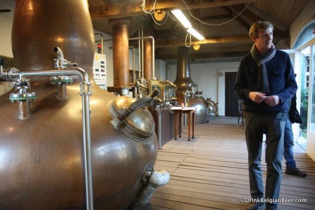 Stokerij De Molenberg: Het Anker's new distillery