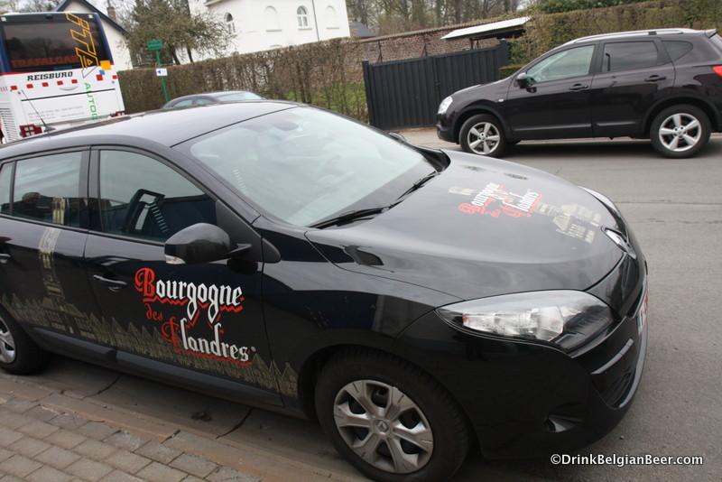 The Bourgogne de Flandres car. Nice ride, eh?