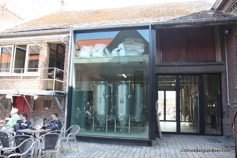 Photo of new brewhouse from outside