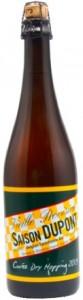 Photo of bottle of Saison Dupont Cuvee Dry Hopping 2013