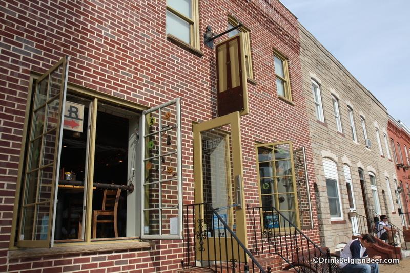 Hudson Street Stackhouse, Baltimore, Maryland, USA.