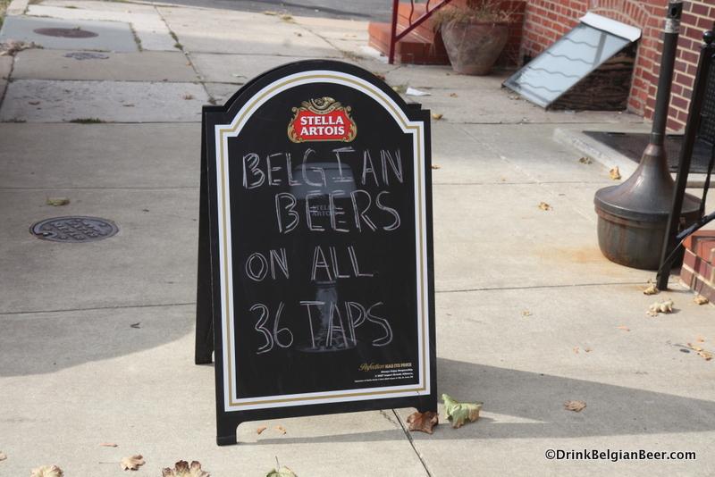 Beer sign, Hudson Street Stackhouse