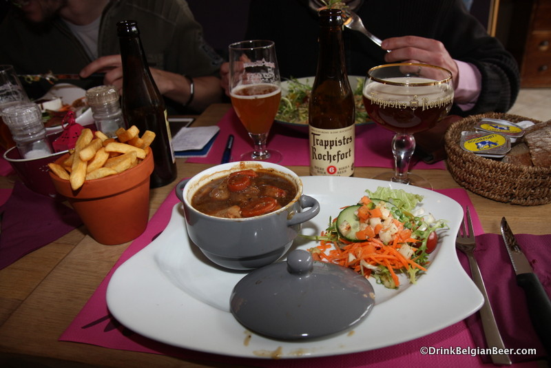 Photo of meal La Gourmandise Rochefort Trappist