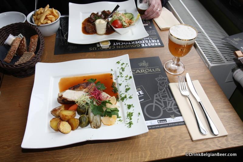 Photo of meal at Brasserie Het Anker