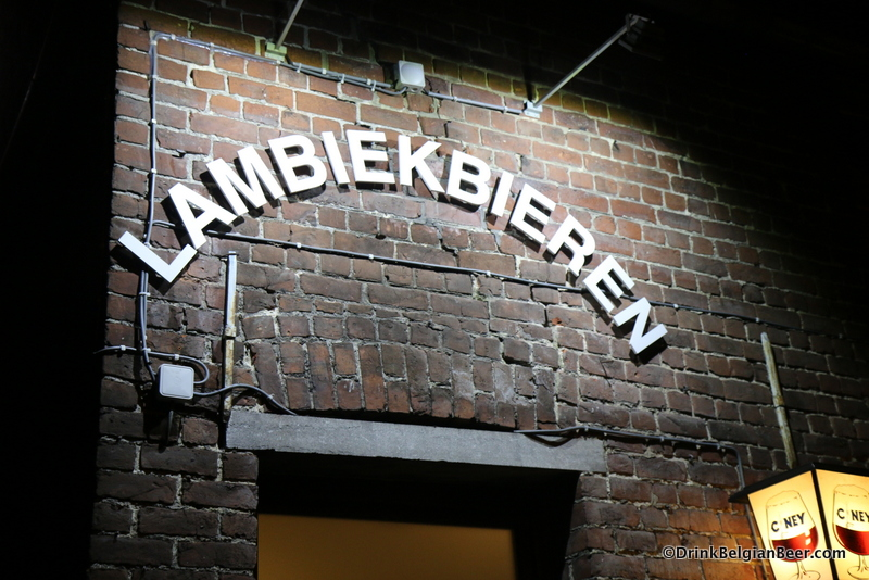 It's pretty obvious that Cafe De Kluis is focused on lambic beers!