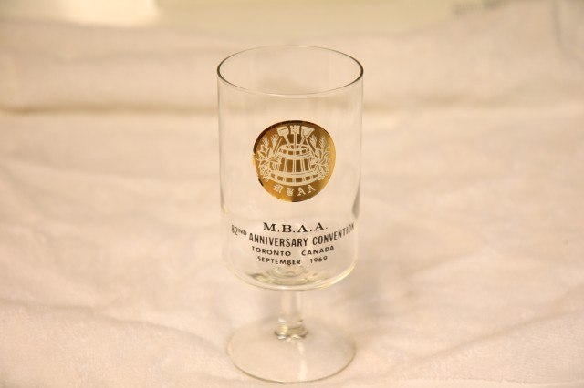 MBAA (Master Brewers Association of America) glassware