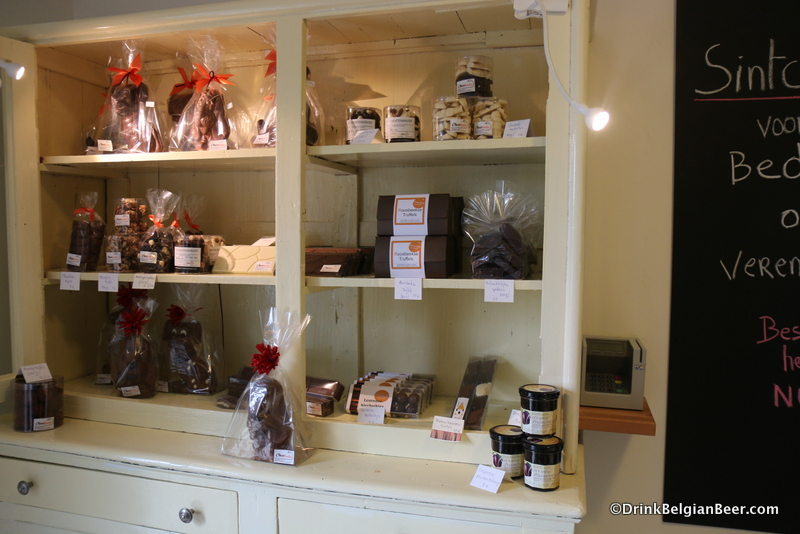 Some of the goodies at Chocobolic in Roosbeek, Flemish Brabant.