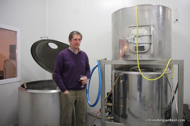 Kristof Vandenbussche, brewer/owner, Brouwerij Ft. Lapin.