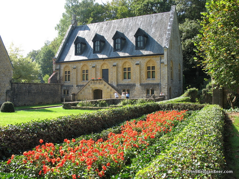 Orval is a beautiful, colorful place in summer.