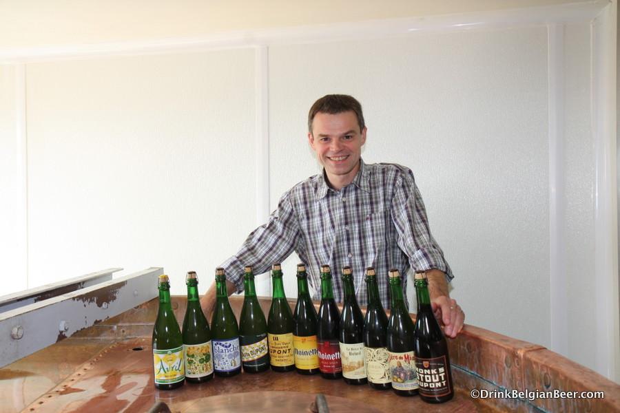 Olivier Dedeycker, Master Brewer, Brasserie Dupont.