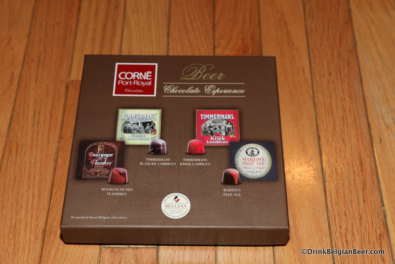 Beer chocolates form Corné Port-Royal, Timmermans and Martins brewery.