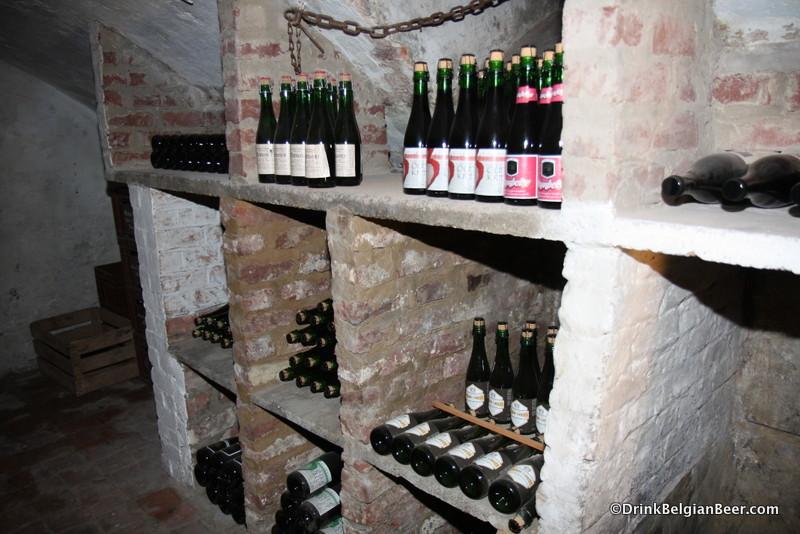In the celler, Herberg De Zwaan.