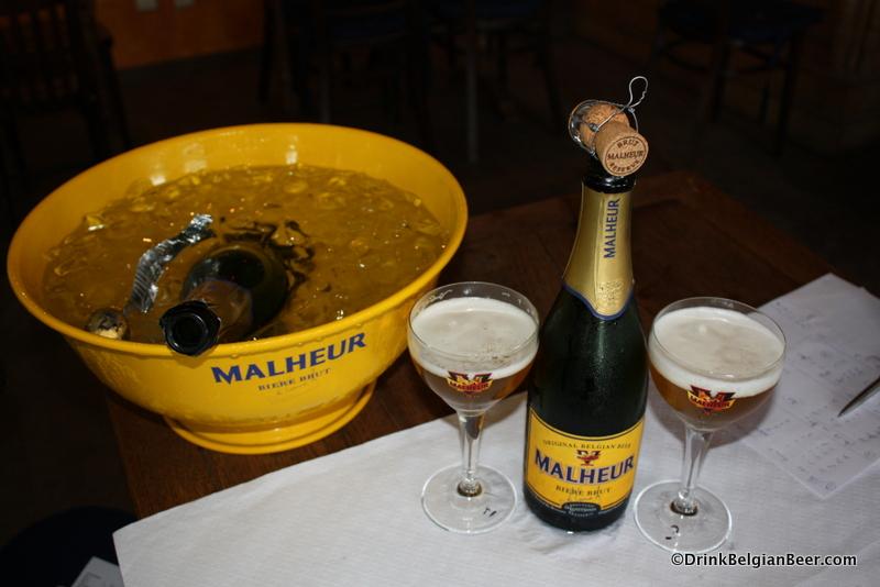 Brouwerij de Landtsheer's Malheur Brut.
