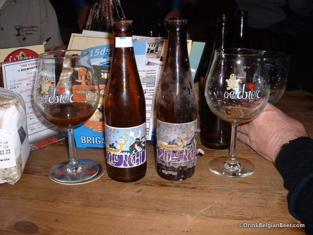 The vintage Belgian beer photos post
