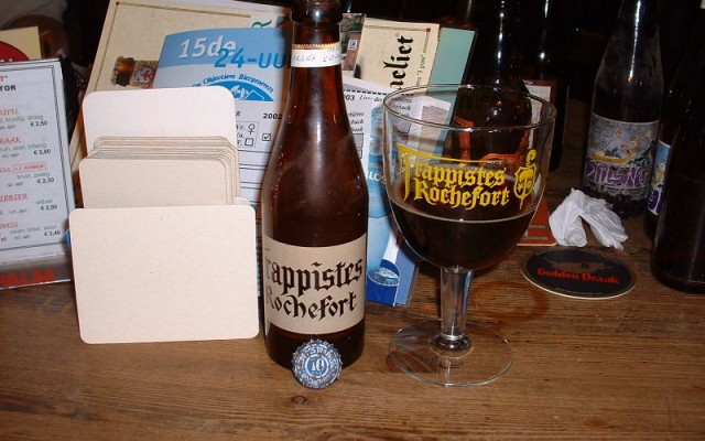 Vintage Trappist beer photos