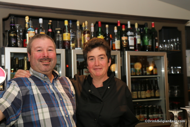 Rudy and Gerda, owners of 't Rond Punt.