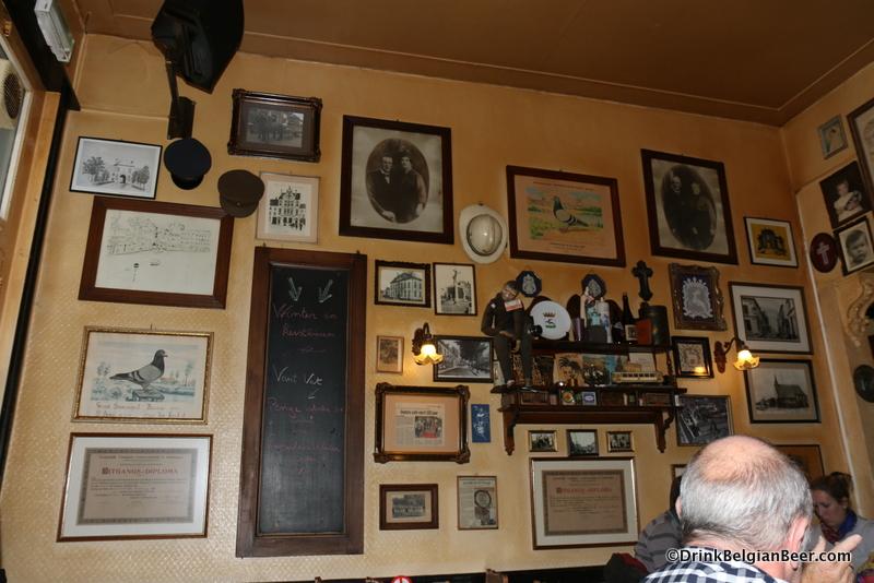Inside Cafe De Penge, Turnhout.