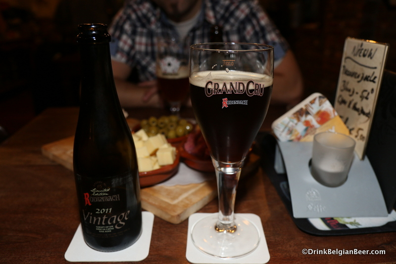 2011 Rodenbach Vintage at In den Spytighen Duvel. Great beer!