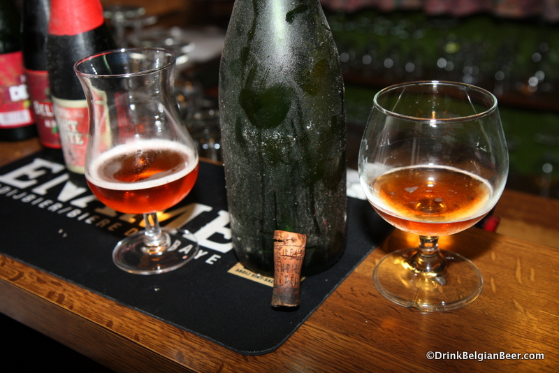 A 1970's or 80's Cantillon Framboise at De Gans. It was stunning. Incredible beer.