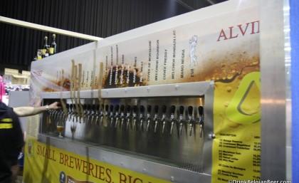 The Alvinne/De Struise Brouwers tap trailer