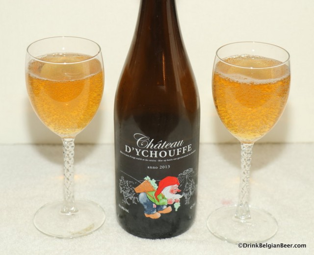 Château d'Ychouffe, Achouffe's new dessert beer…and more from Duvel