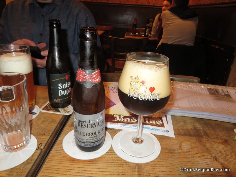 The nightcap beer. At 12% abv, the Oerbier Reserva can do that to you.