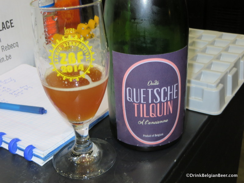 Tilquin Quetsche at ZBF 2014. Great stuff!
