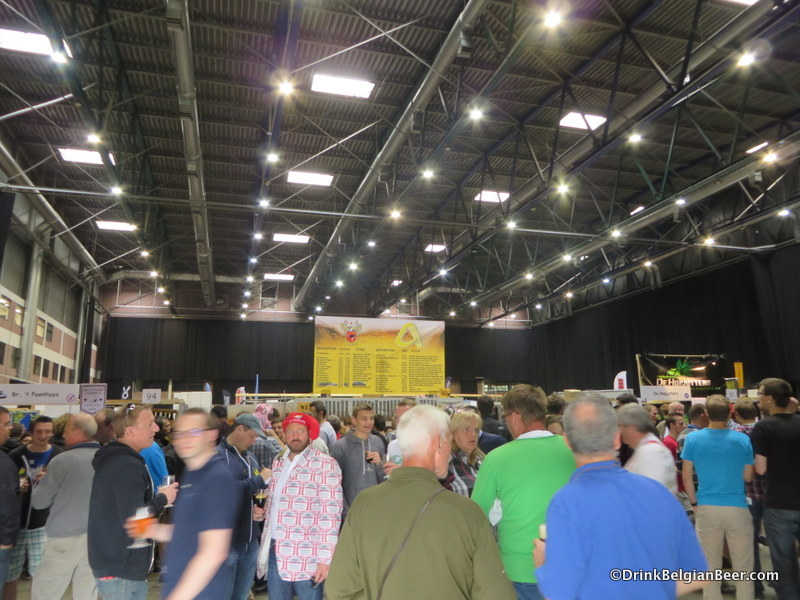 Inside the Brabanthal at ZBF 2014.