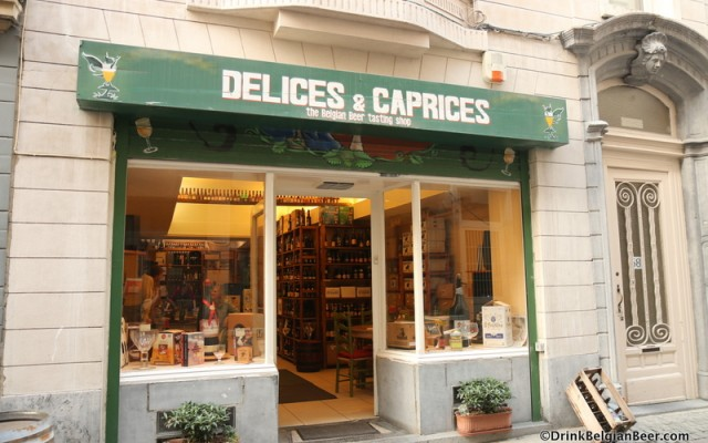 Délices & Caprices: a great beer shop in Brussels
