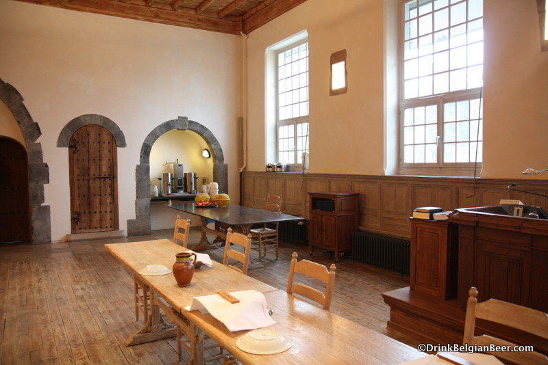 Another shot inside the Refectory/Monk's dining room.