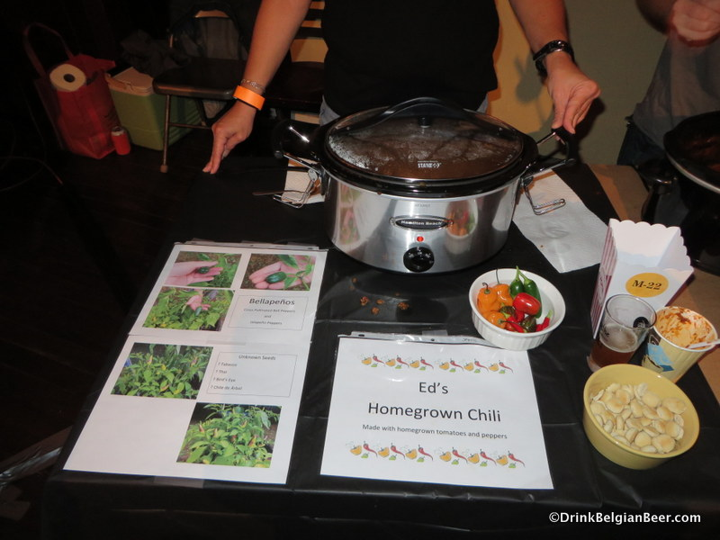 One of the chili contestants from last year. Getting hungry yet?