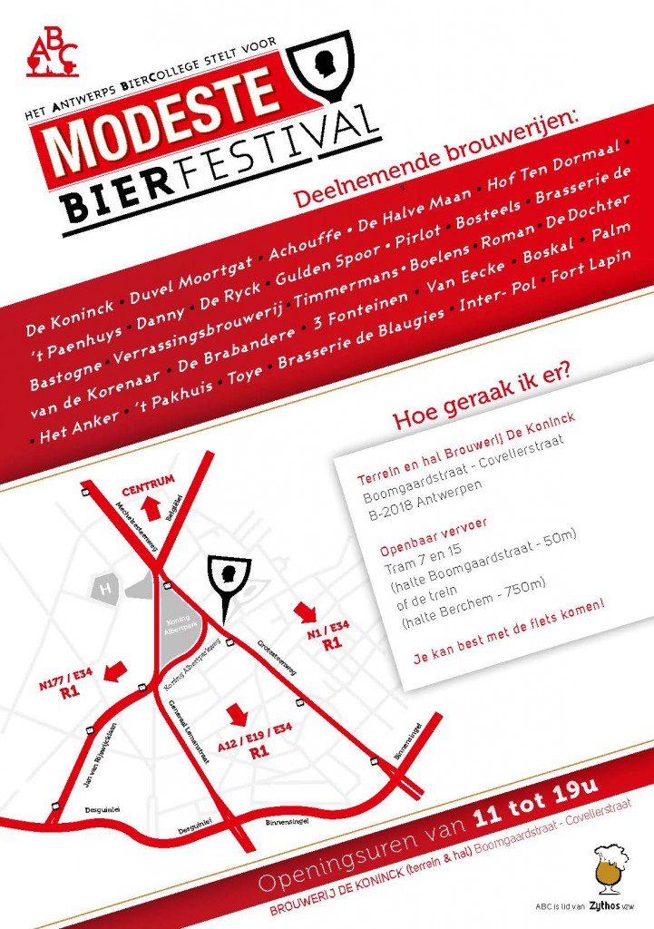Page 2 of the Modeste Beer Festival flyer.