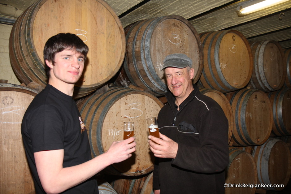 Michael Blancquaert (left) and Armand Debelder, Brouwerij 3 Fonteinen