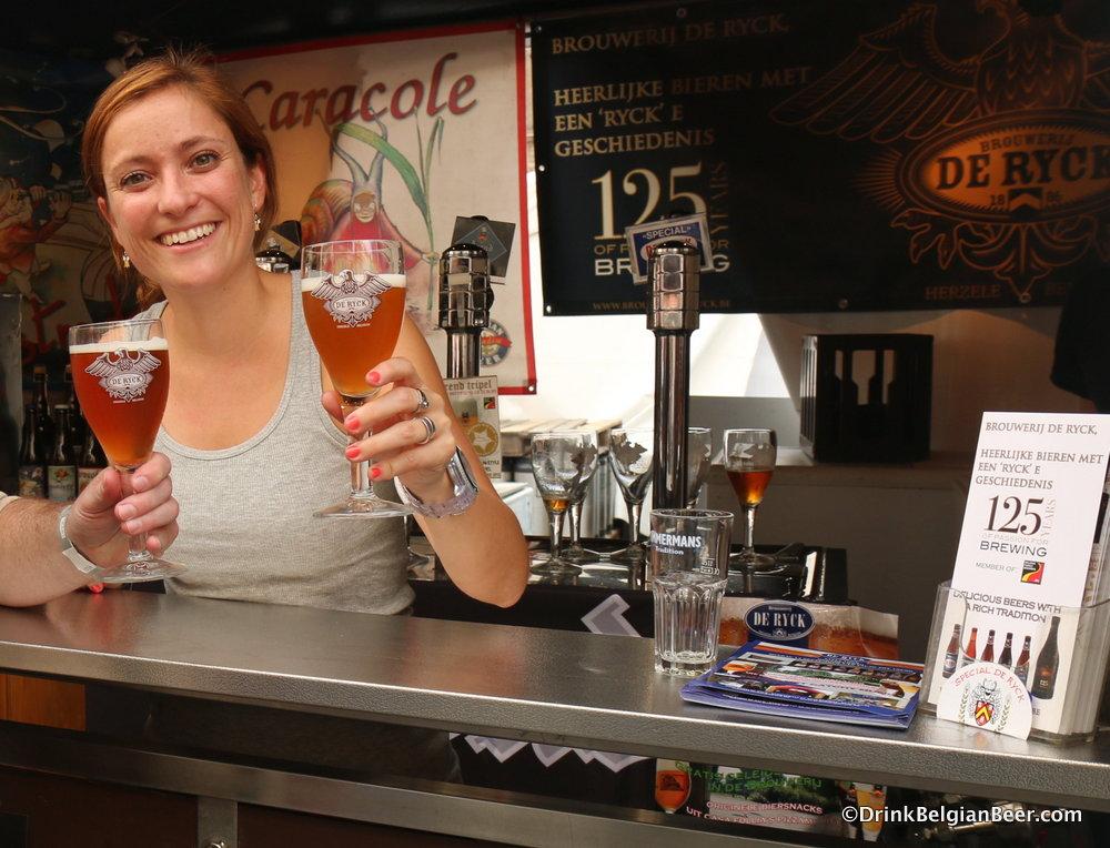 Miek van Melkebeke, Brouwerij de Ryck.