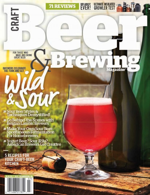 """Fruits of Their Labors"" in Craft Beer and Brewing Magazine"