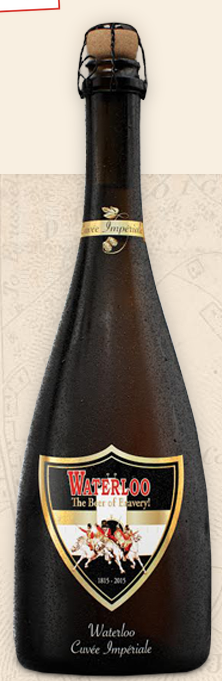 Waterloo Cuvée Impériale, a new brew with 9.4% abv.