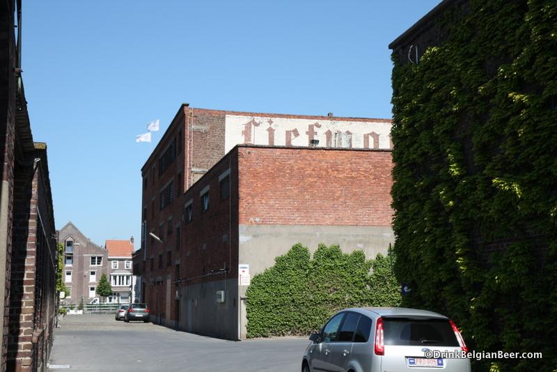 Entrance to Brouwerij Liefmans, Oudenaarde, East Flanders.