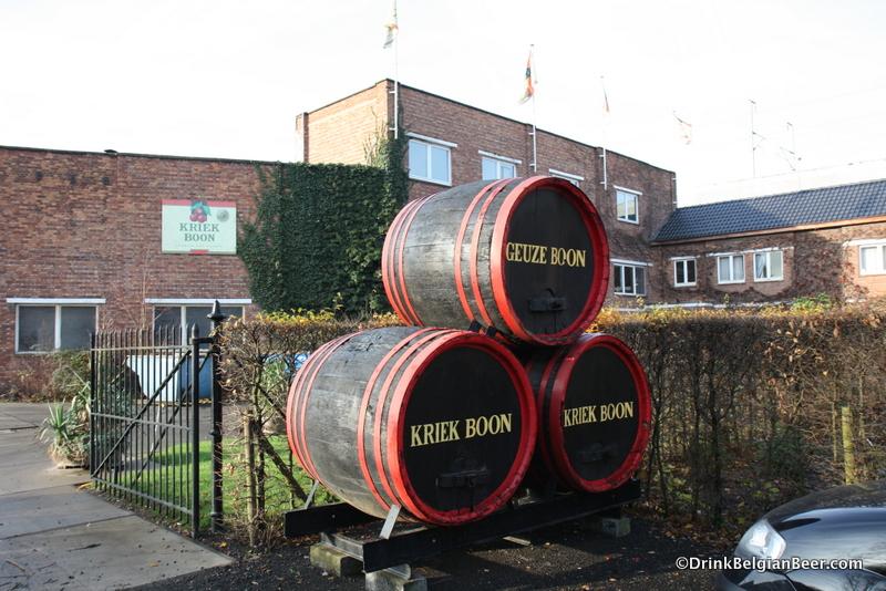 Entrance to Brouwerij Boon, Lembeek, Belgium.