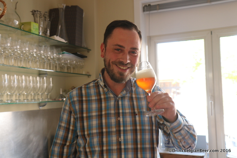 Werner Van Obberghen, business manager of Brouwerij 3 Fonteinen.
