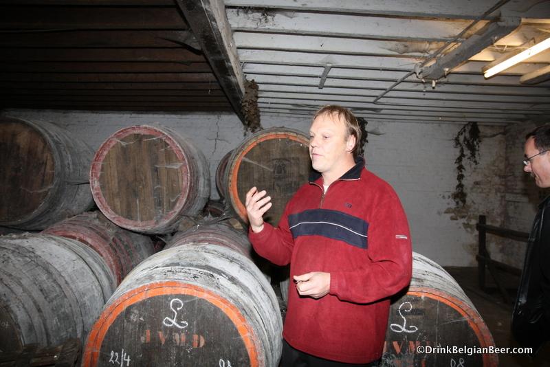 Hanssens blender/co-owner John Matthys.