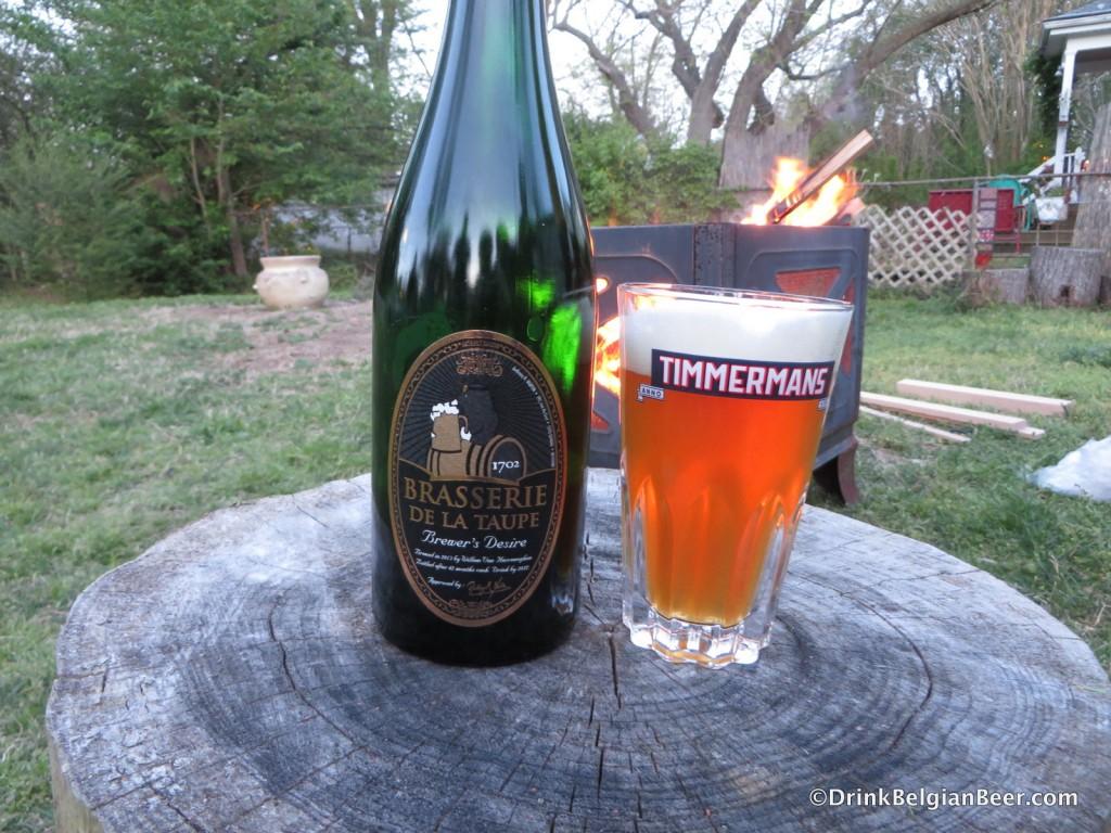 The limited edition Brasserie de la Taupe Brewer's Desire, brewed by Willem van Herreweghen.
