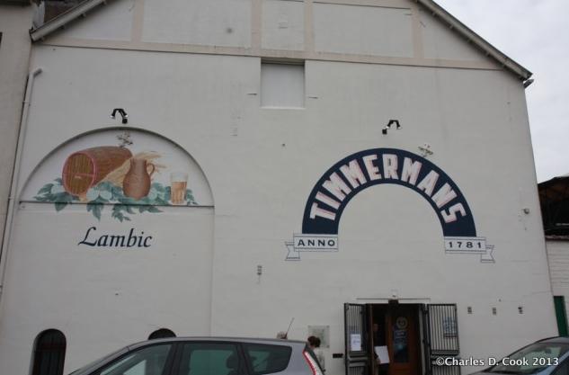 Brouwerij Timmermans of Itterbeek.
