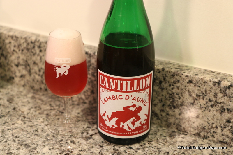 Cantillon Lambic D' Aunis, one of the great lambic beers linked with wine.