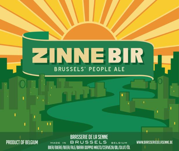 Zinnebir from Brasserie de la Senne.