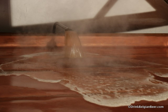 Two brew days at Brasserie Cantillon