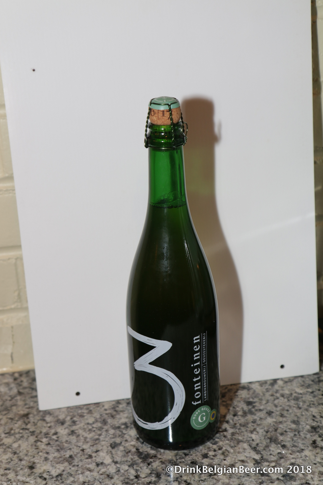 3 Fonteinen Oude Geuze, in its new packaging.