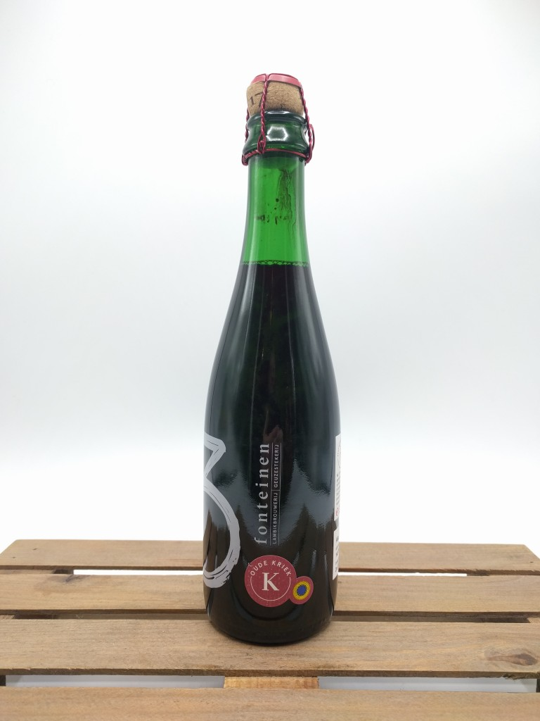 3 Fonteinen Oude Kriek in 37.5 cl bottle.
