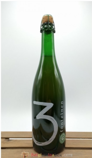 3 Fonteinen Oude Geuze in the 75 cl bottle size.