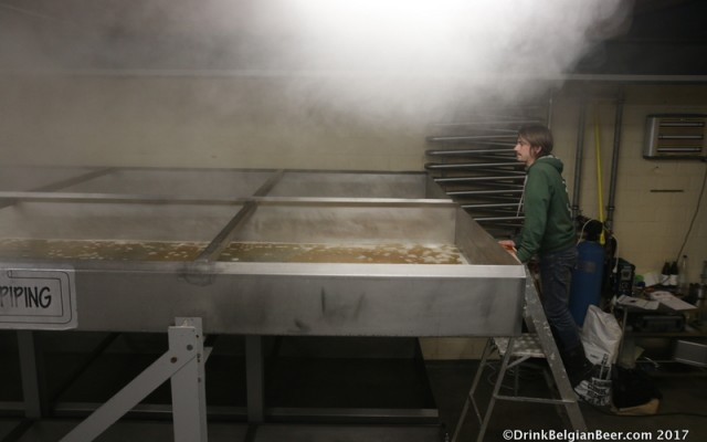 Two brew days at Brouwerij 3 Fonteinen