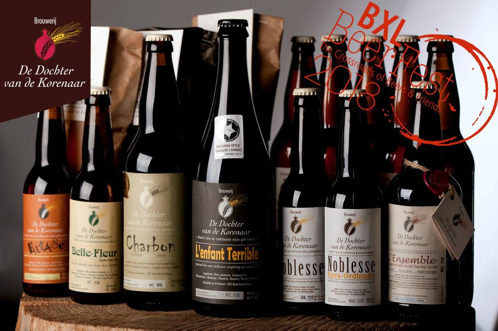 Some of the De Dochter van de Korenaar range of beers.